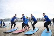 Greek Presidential Guard Surfs
