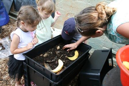 Council can help schools get composting or worm farming programs going.
