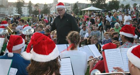 Carols by the sea
