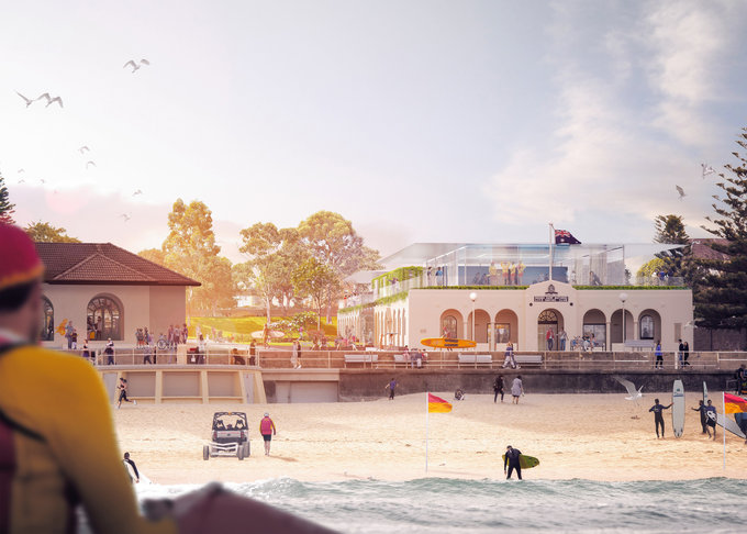 Historic Upgrade Breathes New Life Into Bondi Surf Bathers Life Saving Club Waverley Council