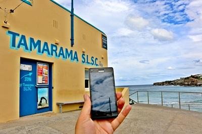 Free Wi-Fi Tamarama Beach