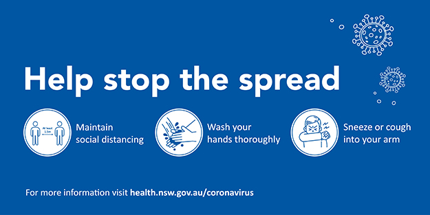 Novel Coronavirus Covid 19 Waverley Council