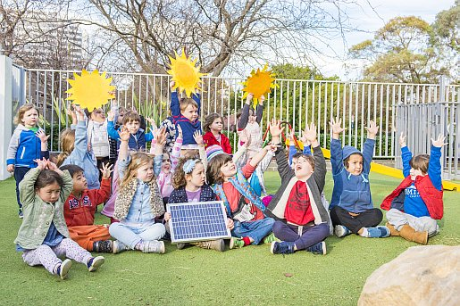 Solar power and school kids