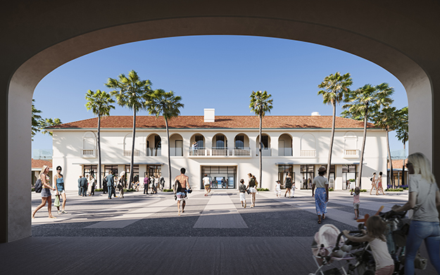 Bondi Pavilion Internal Courtyard, 2021 - Our community