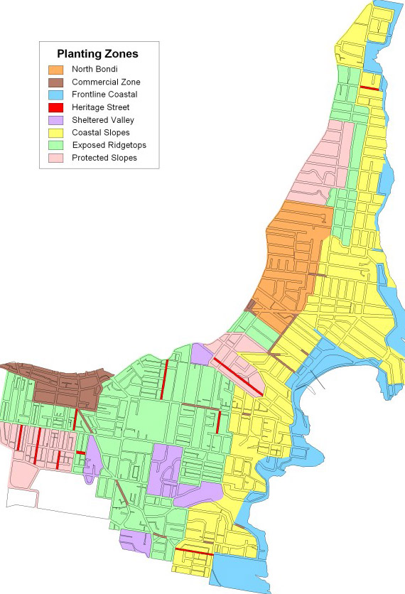 Waverley Planning Maps Planting zones   Waverley Council Waverley Planning Maps