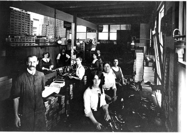 Boot Factory, 1911