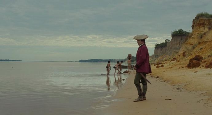 1800s soldier on beach